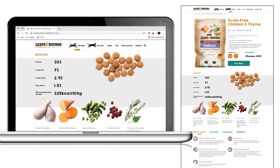 Leaps & Bounds Product Page